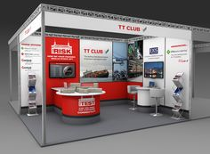 FDG's exhibition stand design for TT Club at TOC Container Supply Chain Europe 2013.