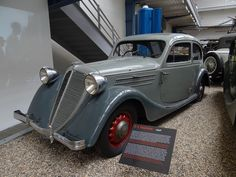 This once belonged to Alois Eliáš, once Prime Minister of the Czech Lands under Nazi occupation. Retro Cars, Vintage Cars, Antique Cars, Bus Engine, Land Cruiser, Old Cars, Subaru, Cars And Motorcycles, Classic Cars