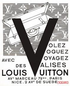 LV第三代傳人在1960年代設計的廣告視覺,是夏季系列的靈感來源。