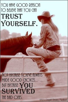 From Cowgirl Dreams on Facebook.