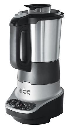 Zupowar Soup & Blend. Urządzenie jest łatwe w obsłudze. Wystarczy wybrać funkcję, nacisnąć przycisk i gotowe. Stylowy blender pozwala jednorazowo wymieszać 1,75 litra zimnych składników lub 1,4 litra gorącej zupy. Jest wystarczająco duży do przygotowania 4 porcji, dzięki czemu cała rodzina może równocześnie cieszyć się smakiem, który zapewni tylko domowej roboty zupa. Kliknij www.kochamdom.pl