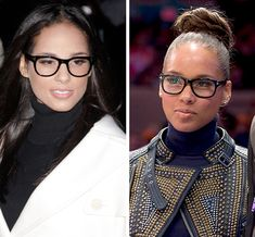 Alicia Keys - Celebrity Glasses