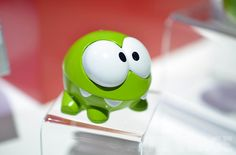 "The mobile game ""Cut The Rope"" is pretty popular and spreading. But if you ask us, this little action figure is a MUST have!"