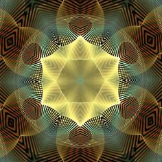 The Mother; 3D Weaving of the Flower of Life