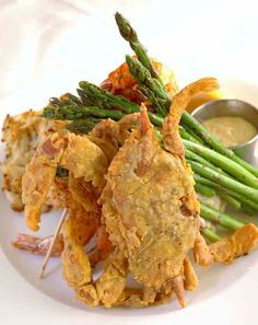 Fried Maryland Crabs