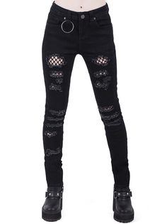 Shop our Women's Bottoms range - skirts, jeans, trousers, bell-bottoms, shorts & overalls. Punk Outfits, Mode Outfits, Fashion Outfits, Fashion Boots, Batman Outfits, Cute Grunge Outfits, Stylish Outfits, Older Women Fashion, Womens Fashion