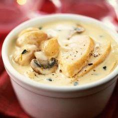 Découvrez la recette Blanquette de poulet sur cuisineactuelle.fr.