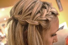 Across and Waterfall Braid