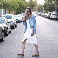 Jean Jacket Outfit Ideas | POPSUGAR Fashion