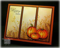 Crafting The Web: Happy Pumpkins