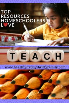 Top Resources for Homeschoolers - The best curriculum, resources, activities, and more!