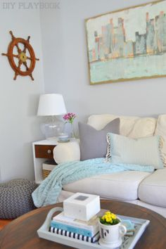 Styling @homegoods pillows on the couch is easy with these PILLOW STYLING TIPS (sponsored pin)