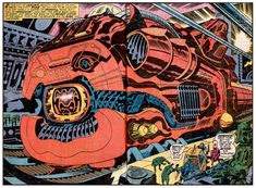 Jack Kirby Splash Pages | UNBOXED