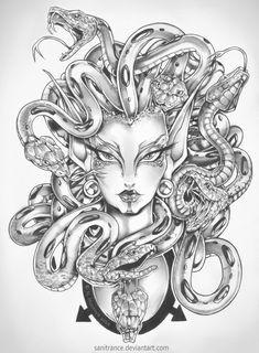 Lady Medusa by sanitrance