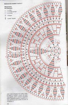 World crochet: Crocheted napkins Crochet Doily Diagram, Crochet Doily Patterns, Crochet Mandala, Crochet Chart, Filet Crochet, Crochet Motif, Crochet Books, Crochet Home, Thread Crochet