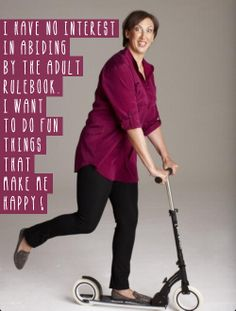 I want to do fun things - Love Miranda ;-)