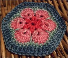 Here's the directions for the African Flower crochet - have to translate into english however
