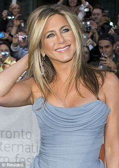 As Jennifer Aniston chops off her famous blonde locks FEMAIL tracks one of Hollywood's most iconic hairstyles