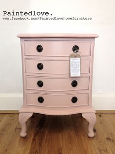Cabinet painted in Annie Sloan Antoinette chalk paint and clear wax. www.facebook.com/Paintedlovehomefurniture