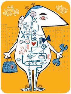 Melinda Beck : Great Life . Regulating Your Blood Sugar. editorial illustration