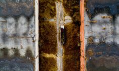 Dearth from above: aerial images of a vanishing America   Art and design   The Guardian St Peter And Paul, Old Forge, Salton Sea, Costumes Around The World, Places In America, California City, Aerial Images, New York City Travel, Blue Bodies