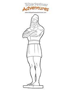 Nebuchadnezzar Dream Statue Coloring Page Google Search With