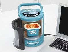Microwave for your deck powered by USB. I'm sure our employees would love this.