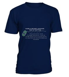 # OLIO-KNIT'S-SECOND-LANGUAGE-KNITTING-T-S .  OLIO-KNIT'S-SECOND-LANGUAGE-KNITTING-T-SHIRT Cool tee shirt with a bear for women, mommy, mom, mother, grandma, grandmother, nana, grandparents to show at party on any family anniversary