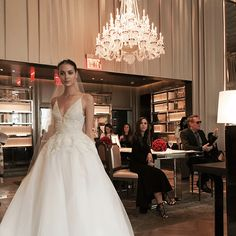Brides: First Look at Monique Lhuillier's Spring 2016 Wedding Dress Collection