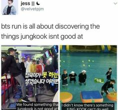 I guess that's why Jungkook is the Golden Maknae and not the Platinum Maknae.. but being good at almost everything is pretty damn impressive..