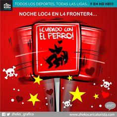 "#ElCartonDelDia para @PurakuraWeb""¡CUIDADO CON EL PERRO!"" #Chivas #ChivasTv #XolosVsChivas @Chivas"