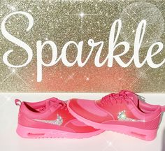 Bling Nike, Nike air max thea, Nike Swarovski Shoes, bling nike sneakers, custom nike shoes, bling nike shoes, crystal nikes, Womens Shoes by AllureDesignz on Etsy