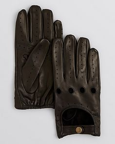 A Gift for The Gear Head... These buttery soft traditional driving gloves, made exclusively for our 100% Bloomingdale's collection, offer warmth and timeless sophistication for the modern gent. Buy it! Free shipping through 12/22/15.