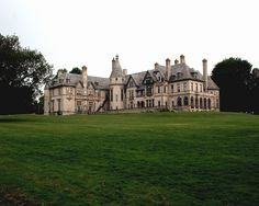 Dark Shadows Collinwood Carey Mansion Newport Rhode Island Color Photograph By Cyril Place Abandoned Houses, Abandoned Places, Old Houses, Manor Houses, Nice Houses, Beautiful Castles, Beautiful Homes, Beautiful Places, American Mansions