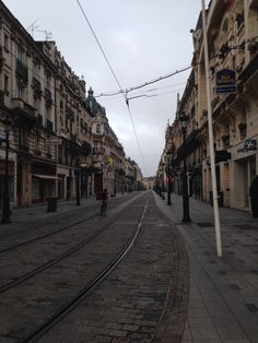 Old Town of Orleans, France. Streets in the early morning.