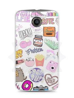 Capa Capinha Moto X2 Coisas de Menina - SmartCases - Acessórios para celulares e tablets :)