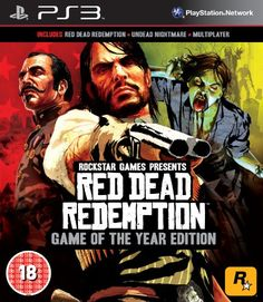 40 Best Selling Sony Playstation 3 PS3 Games for July 2013  |  Red Dead Redemption - Game of The Year Edition  |  Only from £15.95  |  #PS3 Games #Playstation3 Games #RedDeadRedemption