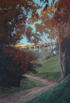 First Street by brian lemke Oil ~ 36 x 24