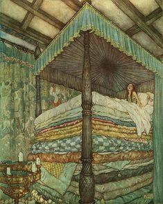 a super comfy bed -that's me