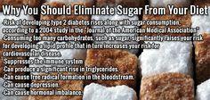 Reasons to Eliminate Sugars