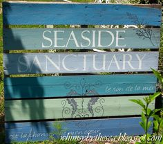 Whimsy by the Sea, beach colors