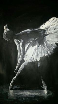 Ballet - acryl