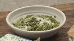 Sugar Snap Peas, Mint and Pecorino Dip