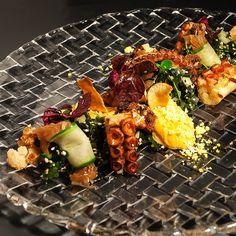 Tintenfisch auf Koreanisch im Dae Mon in Berlin Mitte | www.cremeguides.com