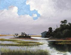 """High Tide on Tybee"" by William Armstrong  Savannah Morning News"