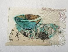Cas Holmes, Small Words, Watercolor Paper, My Works, Textile Art, Hand Stitching, Collage, Sketches, Collages