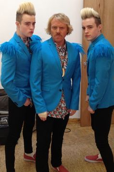 Jedward and Keith Lemon