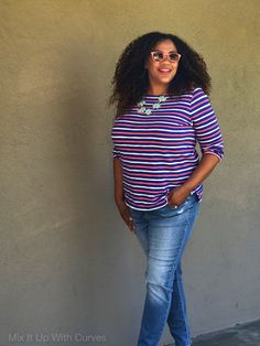 So apparently there is a National Stripes Day and it is today. I am in! Thanks to JCrew, I now have another reason to wear stripes! And, that's what we are Mixing Up in this post! Old Navy ha…