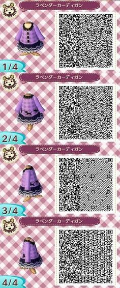 Animal Crossing QR Codes - Fall/Winter