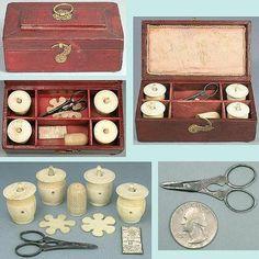Casa De Muñecas printie Kit-Costura Caja y mercería No6-Free UK Post